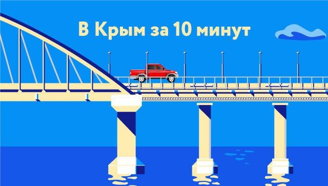В Крым за 10 минут