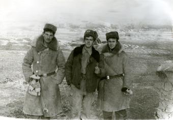 Картавых Юра, Бажанов Валера, Рахмангулов Артур