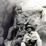 С лево на право Чупшев С.Н., Нач.штаба, Пафмутов А.А., Смирнов