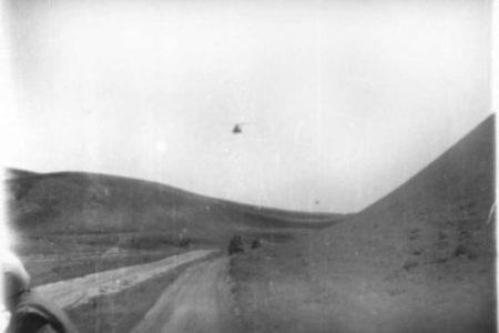 На Броне 4ММГ Тути Дорога в Кунсайской впадине