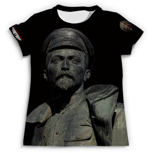 Дизайн майки с Железным Феликсом и знаком НКВД