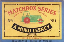Matchbox Catalogue 1957 - Englische Ausgabe Nachdruck