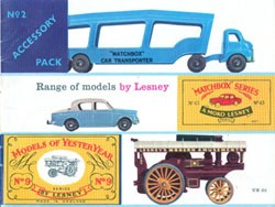 Matchbox Catalogue 1959 - Englische Ausgabe - Second Edition - Lesney Products