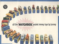 Matchbox Catalogue 1960 - Englische Ausgabe - Lesney Products