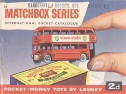 Matchbox Catalogue 1961 - Englische Ausgabe