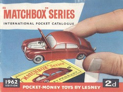 Matchbox Catalogue 1962 - Englische Ausgabe - Lesney Products