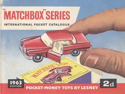 Matchbox Catalogue 1963 - Englische Ausgabe - Lesney Products