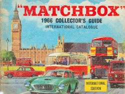 Matchbox Collector's Guide 1966 - International Catalogue - Lesney Products