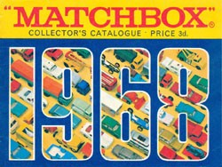 Matchbox Collector's Catalogue 1968 - Englische Ausgabe - Lesney Products