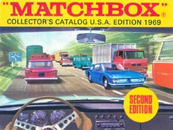 Matchbox Collector's Catalogue - USA Edition 1969 - Second Edition