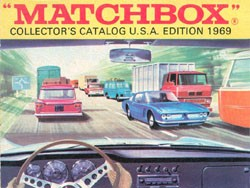 Matchbox Collector's Catalogue - USA Edition 1969