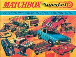 Matchbox Collector's Catalogue 1970 - USA Edition - Lesney Products