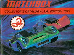 Matchbox Collector's Catalogue 1971 - USA Edition - Lesney Products