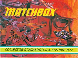 Matchbox Collector's Catalogue 1972 - International Edition - Lesney Products