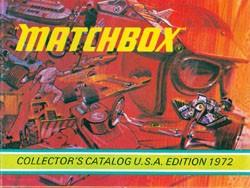 Matchbox Collector's Catalogue 1972 - International Edition