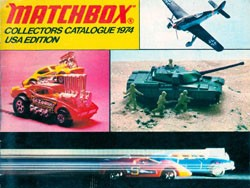 Matchbox Collector's Catalogue 1974 - Englische Edition - Lesney Products