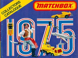 Matchbox Collector's Catalogue 1975 - International Edition - Lesney Products