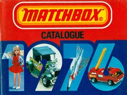 Matchbox Collector's Catalogue 1976 - USA Edition - Lesney Products