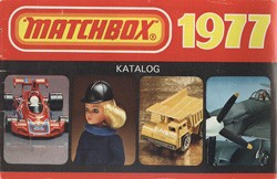 Matchbox Collector's Catalogue 1977 - BRD Edition - Lesney Products