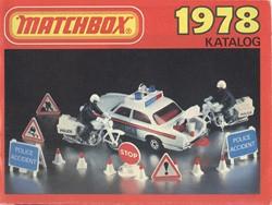 Matchbox Collector's Catalogue 1978 - BRD Edition