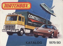 Matchbox Collector's Catalogue 1979/80 - BRD Edition - Lesney Products