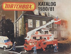 Matchbox Collector's Catalogue 1980/81 - BRD Edition - Lesney Products
