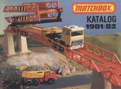 Matchbox Collector's Catalogue 1981/82 - BRD Edition - Lesney Products