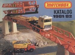 Matchbox Collector's Catalogue 1981/82 - BRD Edition