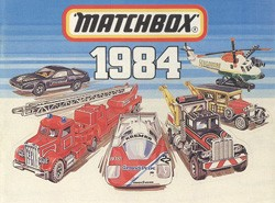 Matchbox Collector's Catalogue 1984 - International Edition - Lesney Products