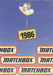 Matchbox Collector's Catalogue 1986 - BRD Edition - Lesney Products