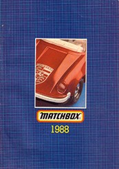 Matchbox Catalogue 1988 - Englische Ausgabe - Lesney Products