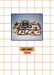 Matchbox Catalogue 1989 - Englische Ausgabe - Lesney Products