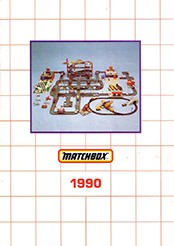 Matchbox Catalogue 1990 - Englische Ausgabe - Lesney Products