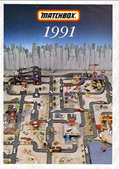 Matchbox Catalogue 1991 - Englische Ausgabe - Lesney Products