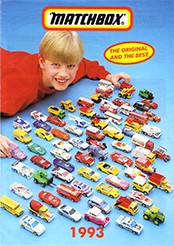 Matchbox Catalogue 1993 - Englische Ausgabe - Lesney Products