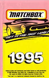 Matchbox Catalogue 1995 - Englische Ausgabe - Lesney Products