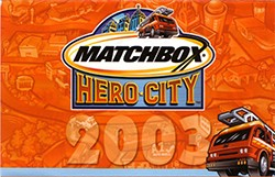 Matchbox Catalogue 2003 - Englische Ausgabe - Lesney Products