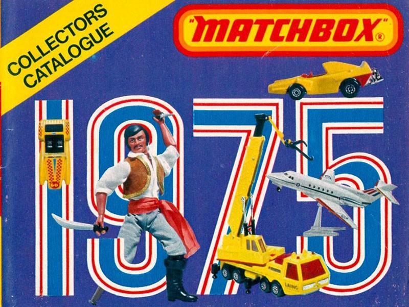Matchbox Lesney - Каталоги - Matchbox Catalogue 1975