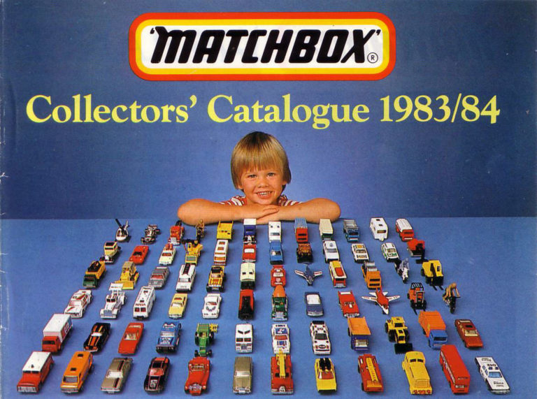 Matchbox Collector's Catalogue 1983/84 - International Edition - Lesney Products