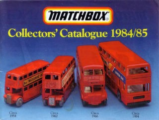 Matchbox Collector's Catalogue 1984/85 - International Edition - Lesney Products