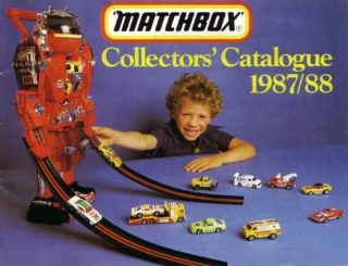 Matchbox Collector's Catalogue 1987/88 - International Edition - Lesney Products