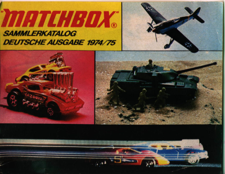 Matchbox Collector's Catalogue 1974/75 - International Edition - Lesney Products