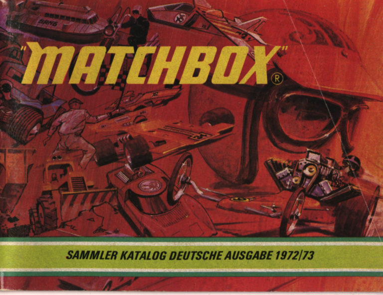 Matchbox Collector's Catalogue 1972/73 - International Edition - Lesney Products