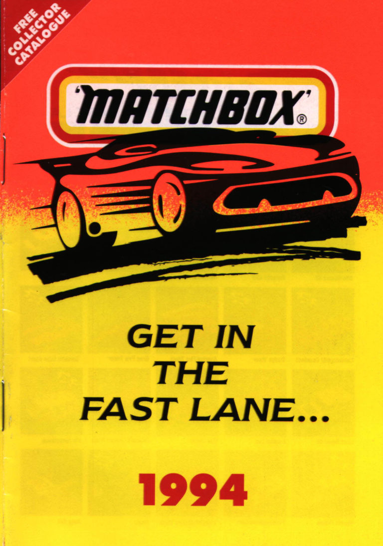Matchbox Catalogue 1994 - Englische Ausgabe - Lesney Products