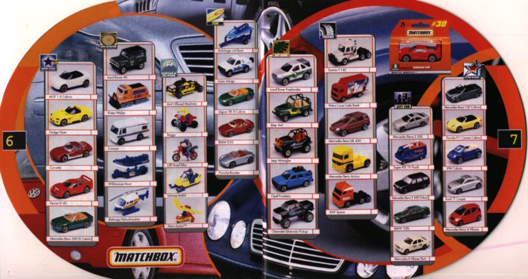 Matchbox Catalogue