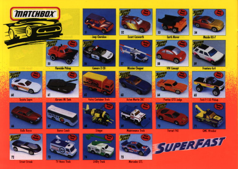 Matchbox Collector's Catalogue 1996/97 - International Edition - Lesney Products