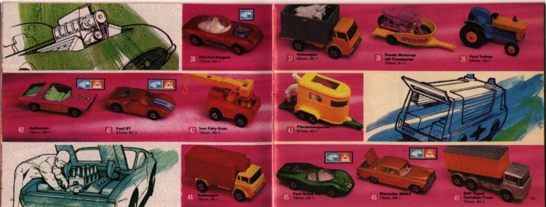 Matchbox Catalogue - Lesney Products