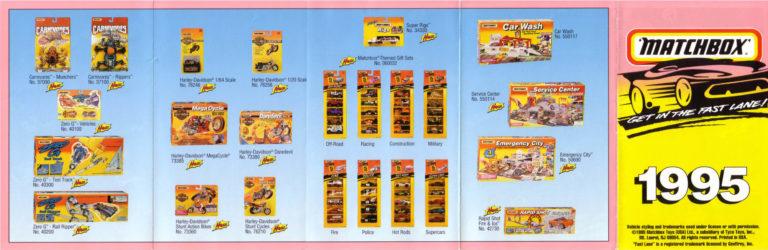Matchbox Catalogue 1995 - Englische Ausgabe