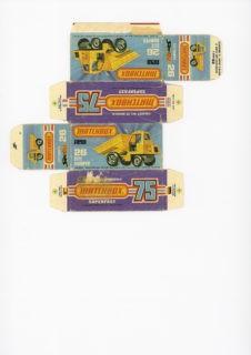 Pattern for printing boxes - Matchbox MB 26 Шаблон для печати коробочек