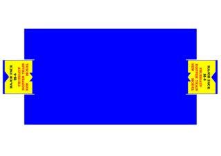 Pattern for printing boxes - Matchbox Major Packs-M4 Шаблон для печати коробочек